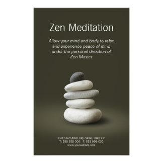 Zen Stones flyer