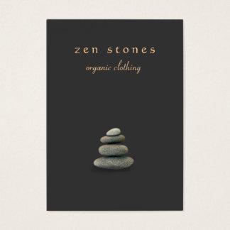 Zen Stones Holistic Healer and Natural Medicine Business Card