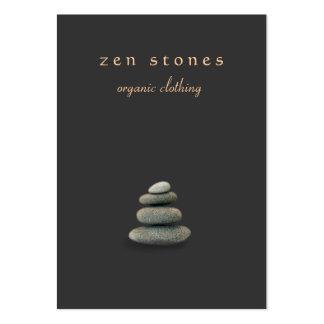 Zen Stones Holistic Healer and Natural Medicine Large Business Card