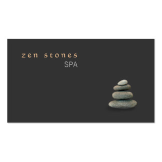 Zen Stones Holistic Healing Arts Wellness Double-Sided Standard Business Cards (Pack Of 100)