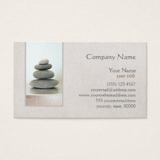 Zen Stones Holistic Health Healer Business Card