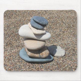 Zen stones mouse pad