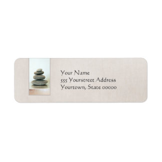 Zen Stones Return Address Label