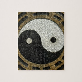 Zen Stones With Yin And Yang Jigsaw Puzzle