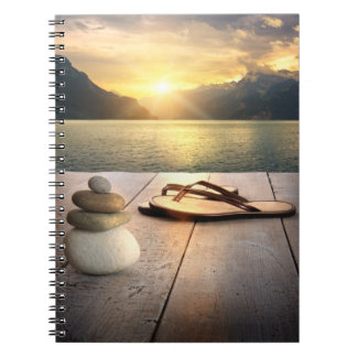 Zen Sunset Notebook