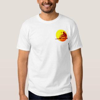 Zen Surfer (Sunburst) Bondi Beach Tee Shirt