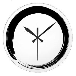 Zen Symbol / Enso Circle Wall Clocks