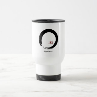 Zen Symbol with Happiness Character Mugs