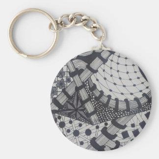 Zen Tangle Key Chain