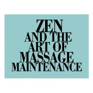 ZEN & The Art of MASSAGE Post Cards