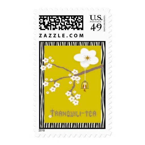 Zen Tranquili-tea Stamp