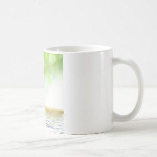 Zen tranquility water garden by healing love coffee mugs