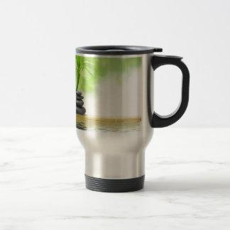 Zen tranquility water garden by healing love coffee mug