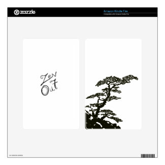 Zen Tree Decals For Kindle Fire