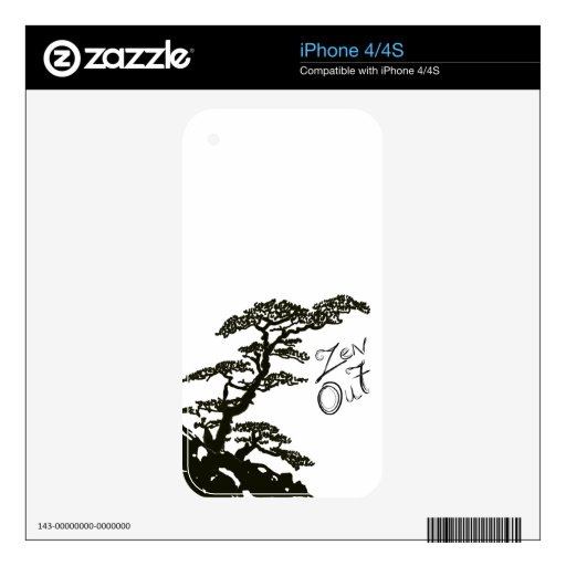 Zen Tree Skins For iPhone 4