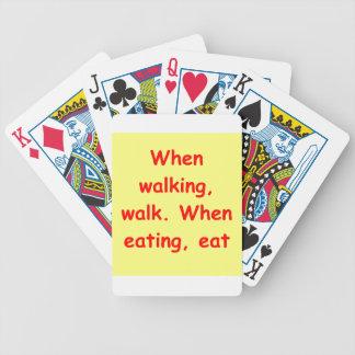 zen understanding poker cards