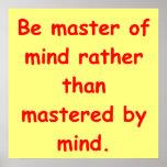 zen understanding poster