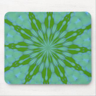 Zen verde Mousepad de la burbuja