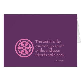 Zen Wisdom Card