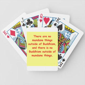 zen wisdom poker cards