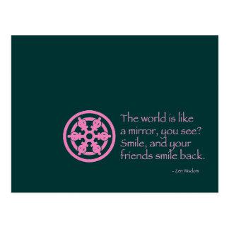 Zen Wisdom Postcard