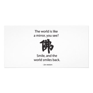 Zen Wisdom - We Get What We Give Card