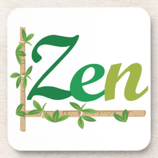 Zen with Bamboo Coasters