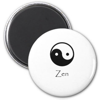 Zen Yin & Yang 2 Inch Round Magnet