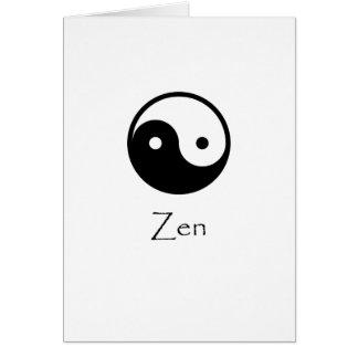 Zen Yin & Yang Card
