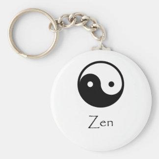 Zen Yin & Yang Keychain