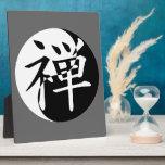 Zen Yin Yang Placas Con Fotos