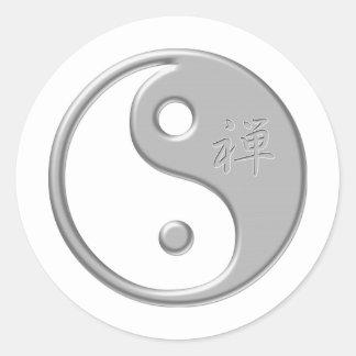 Zen Yin Yang Sticker