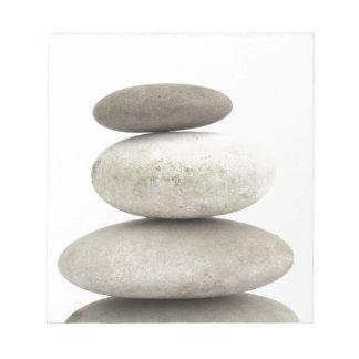 Zen yogo stones note pads