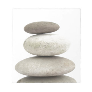 Zen yogo stones notepad