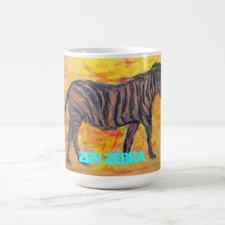 Zen Zebra Coffee Mug