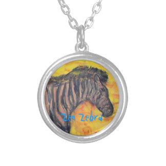 Zen Zebra Necklace