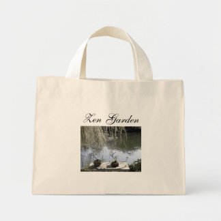 Zen, Zen Garden Mini Tote Bag