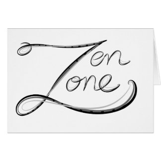 Zen Zone Greeting Cards