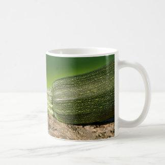 zen & zucchini classic white coffee mug