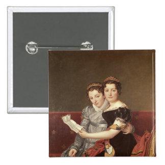 Zenaide y Charlotte Bonaparte, 1822 Pin