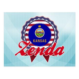 Zenda KS Tarjeta Postal