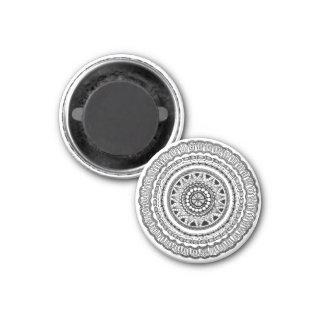 "Zendala ""Queste"" Round Magnet"
