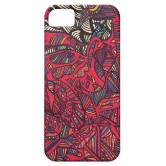 Zendoodle birds flock together iPhone SE/5/5s case