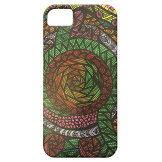 Zendoodle colorful twister iPhone SE/5/5s case