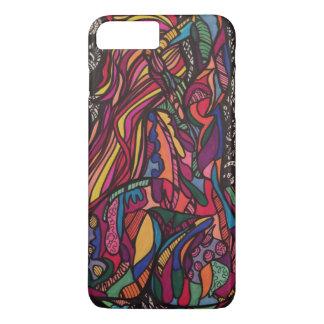 Zendoodle curves iPhone 8 plus/7 plus case