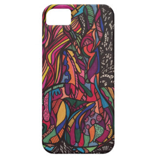 Zendoodle curves iPhone SE/5/5s case