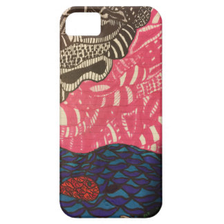 Zendoodle fish swim on a pink day iPhone SE/5/5s case