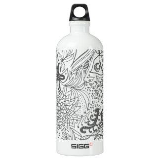 Zendoodle Garden Aluminum Water Bottle