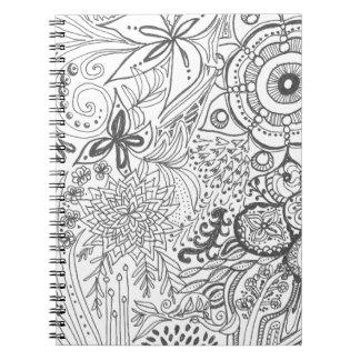 Zendoodle Garden Notebook