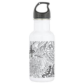 Zendoodle Garden Water Bottle